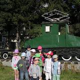 Locomotiva electrica din Gara Busteni