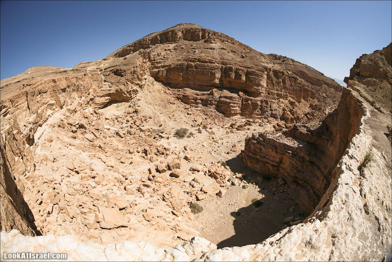 Эйн Нетафим - каньон из которого нет выхода