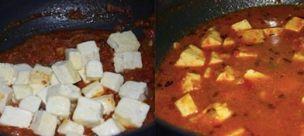 Panner butter masala step 9