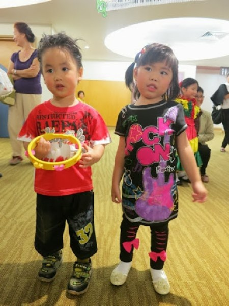 Yining With Her Classmate