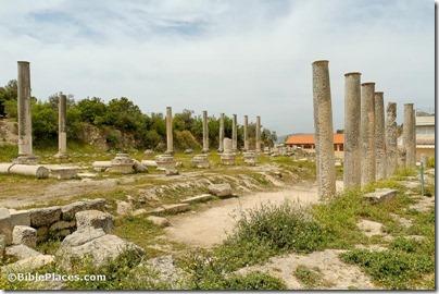 Samaria Roman basilica, tb050106554