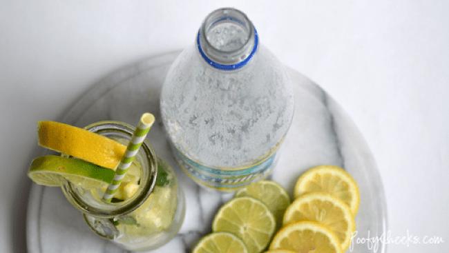 Easy Sparkling Limeade Spritzer