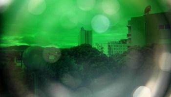 filtro verde não convencional