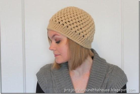 Crochet Puff Stitch Beanie Pattern Renewed Claimed Path