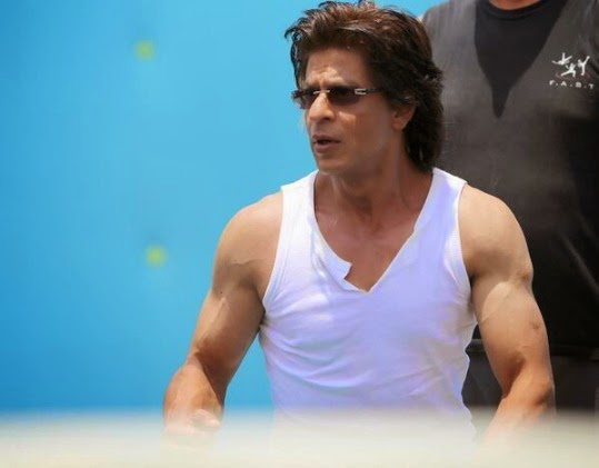 SRK On Sets Of Happy New Year (1/5)