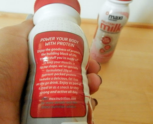maxinutrition protein milk 4