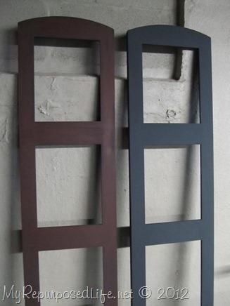 repurposed photo room divider