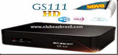 GLOBALSAT GS 111 V178 - ATUALIZAÇÃO 28.07.2014