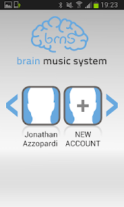 Brain Music System ™ Tablet screenshot 1