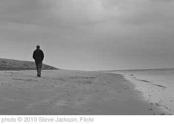 'Alone on the beach' photo (c) 2010, Steve Jackson - license: http://creativecommons.org/licenses/by-nd/2.0/