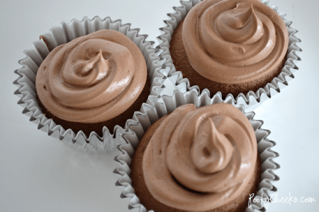 Decadent Hazelnut Cupcakes with Nutella Frosting
