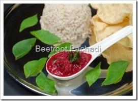 Beetroot Pachadi
