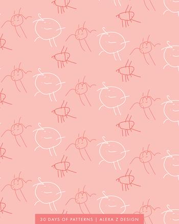 ellie pattern  - Alexa Z Design pattern