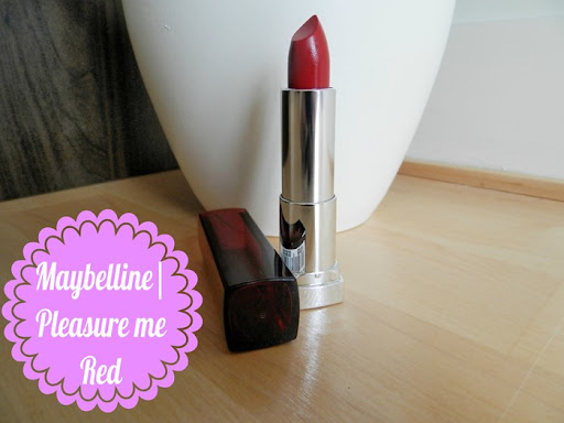 Maybelline Colour Sensational pleasure me red