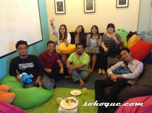 Jumpa Nuffnang Angels - group photo