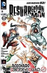 P00017 - Resurrection Man #9