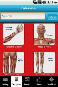 Muscle Trigger Points LITE screenshot 3