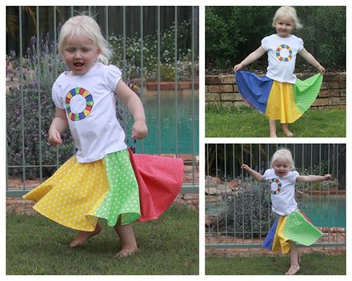 Twister Circle Skirt-001