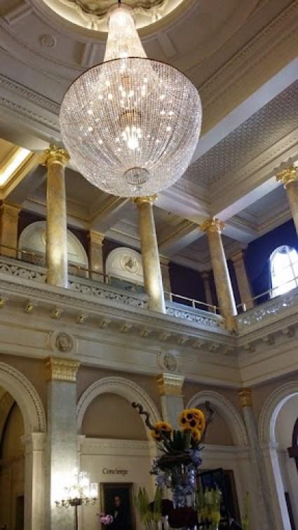 The Grosvenor Hotel lobby