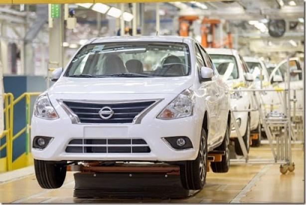 Nissan inicia produção do New Versa em Resende (RJ)
