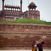 Lahore Gate at the Red Fort in Delhi