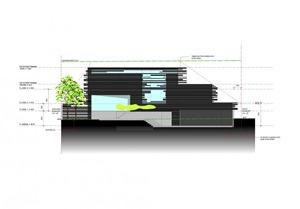 plano-fachada-Casa-Glendowie-de-Bossley-Architects