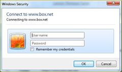 เก็บข้อมุลด้วย box.net