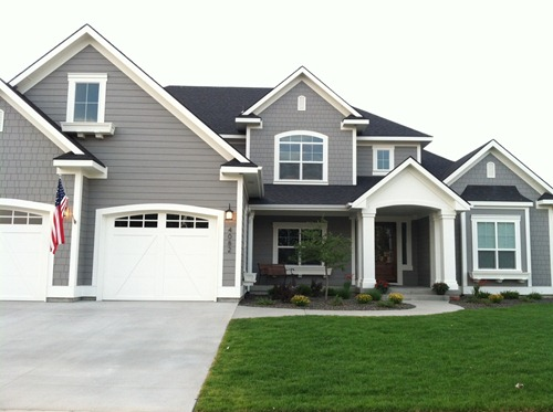 dovetail gray sw white dove bm exterior paint colors