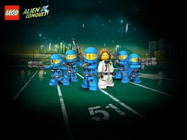 LEGO Space Earth Defense