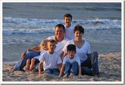 family on sand SR favorite