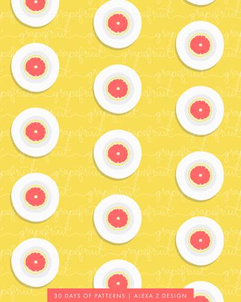 30 Days of Patterns Alexa Z Design