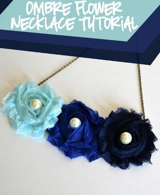 Ombre Bib Necklace Tutorial