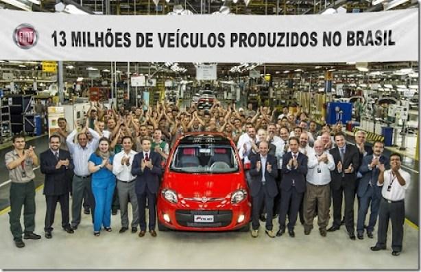 Fiat AutomóveisBetim - MG13 Milhões de Veículos Produzidos no PaísFoto Leo Lara/Studio Cerri