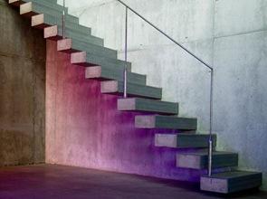 diseño de escaleras chalet madrid