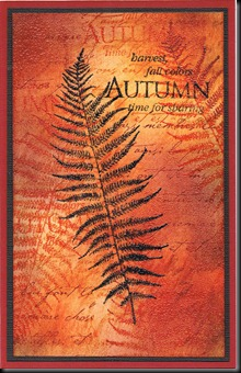FRENCH TEXT AUTUMN
