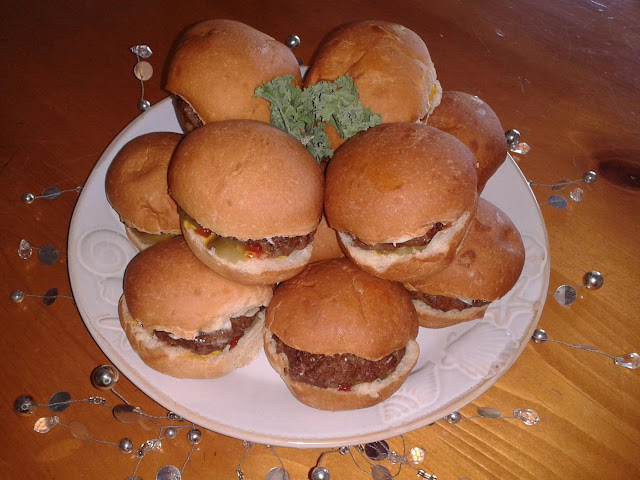 The Hearty Party Mini Burger