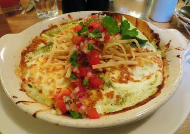 five points - eggs rancheros