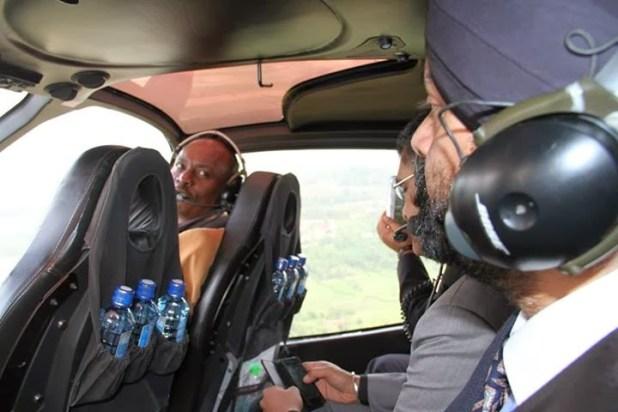 KIAMBU Governor WILLIAM KABOGO Flying Around In His New Private ...