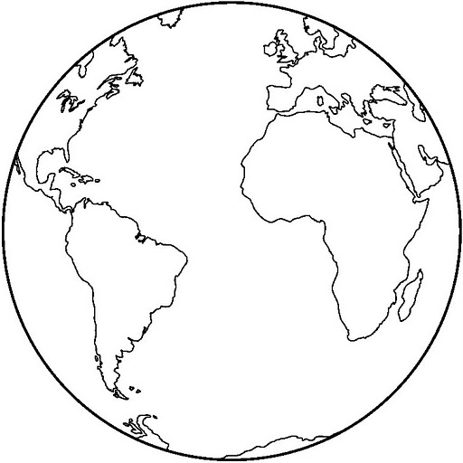 from coloring pages post planet earth coloring page