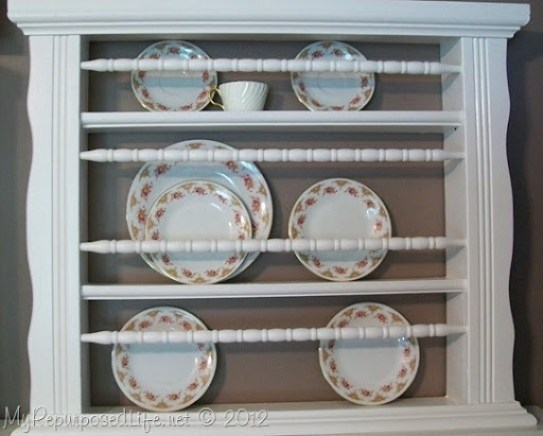 My Repurposed Life Plate Rack 2
