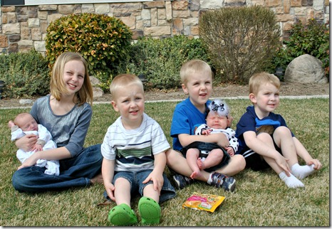 6 grandkids 3