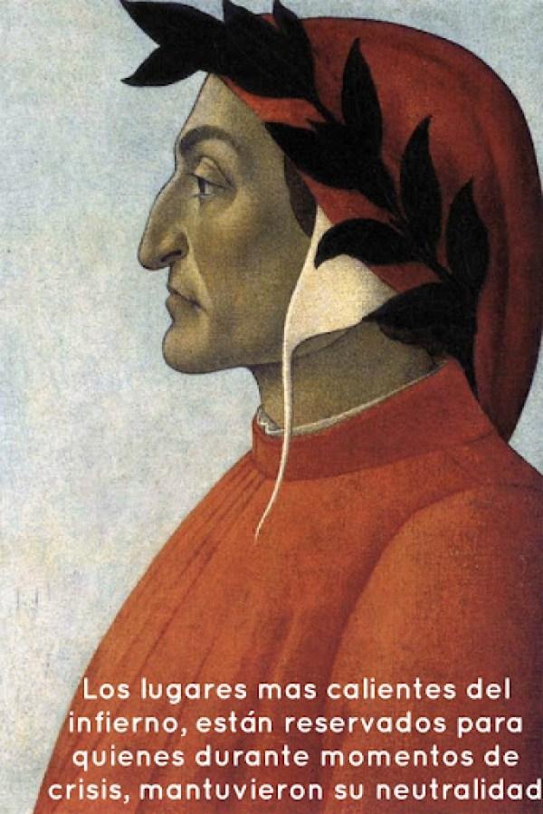 Dante sobre la neutralidad