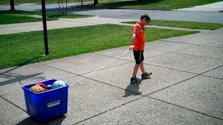storage tub to rolling cart