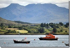 Lifeboat and Cuillins