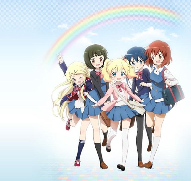 Hello!! Kin-iro Mosaic - anime 1