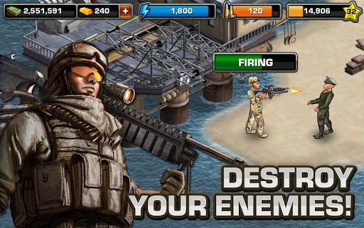 Modern War by GREE screenshot 14