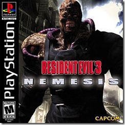 Resident Evil 3 Playstation
