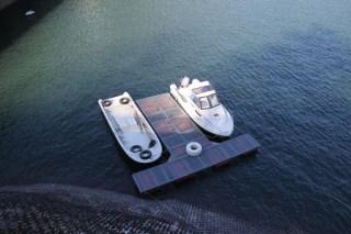 巡視船を望む