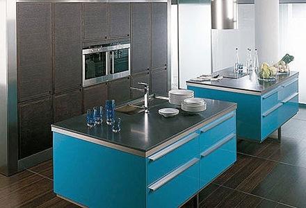 cocinas-con-dos-islas-de-colores