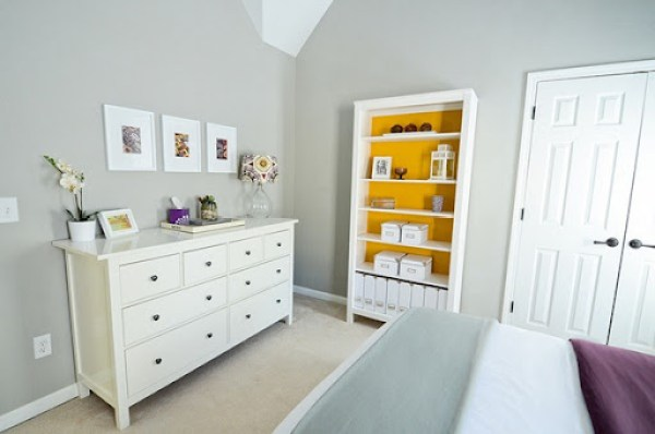 bookcase color - Solar Fusion by Behr Paint